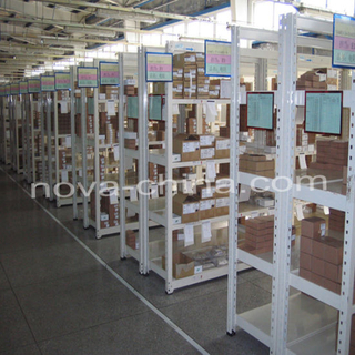 Warehouse Storage Light Duty Shelving with Light Shelving