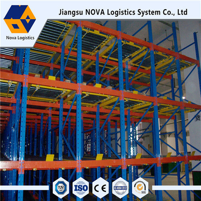 Nova Steel Heavy Duty Gravity Pallet Racking