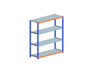Medium Duty Long Span Racking with Shelving