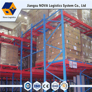 Heavy-Duty Steel Push Back Racking From China Manufacturer