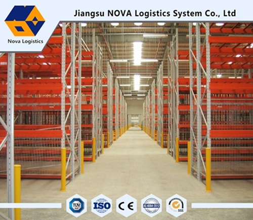 Electrastic Powder Coating Heavy Duty Selective Pallet Racking