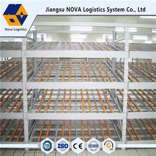 Flow-Through Racking with High Quality Roller