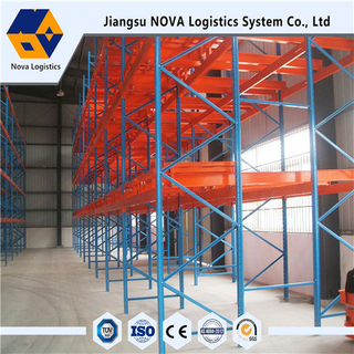 Warehouse Storage Push Back Rack From Nova