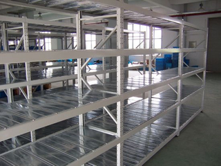 Medium Duty Steel Galvanized Shelving