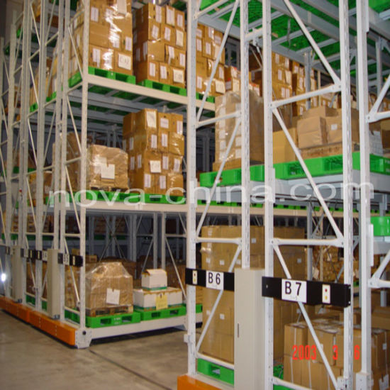 Heavy Duty Movable Storage Rack with High Quality Racking