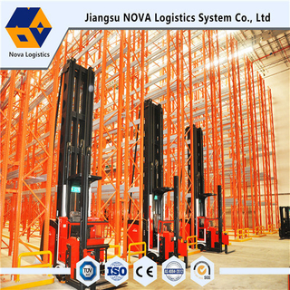 Heavy Duty Very Narrow Aisle Racking From Nova Manufacturer