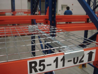 Steel Wire Decking Mesh with Supported Heavy Duty Pallet Racking