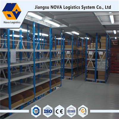 Heavy Duty Cold-Rolled Steel Mezzanine Floor 200-800kg Per Square Meter