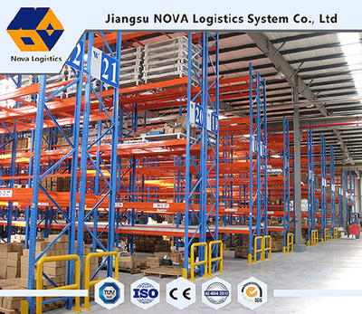 Selective Steel Pallet Rack Used for Warehouse Storage