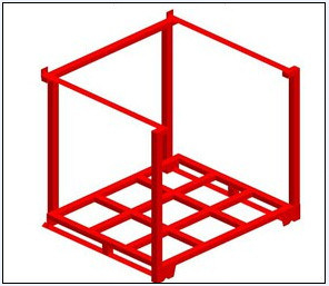 Stackable Storage Pallet Rack with Ce Certificated