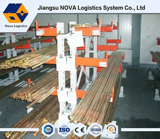 Warehouse Storage Double Side Cantilevered Racks From Nova System