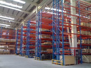 NOVA Pallet Rack heavy-duty rack thickened storage high-level Industrial Warehouse Rack Load 3 tons/floor
