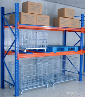 Customized heavy duty warehouse storage selective pallet racking