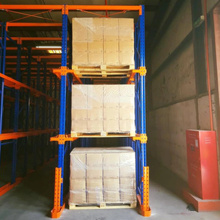 Steel FiFo Cold-room Drive In Pallet Racking