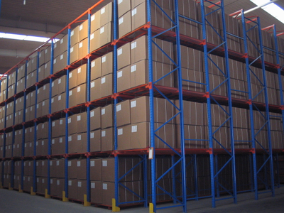 Steel Storage Heavy Duty Drive In Pallet Racking