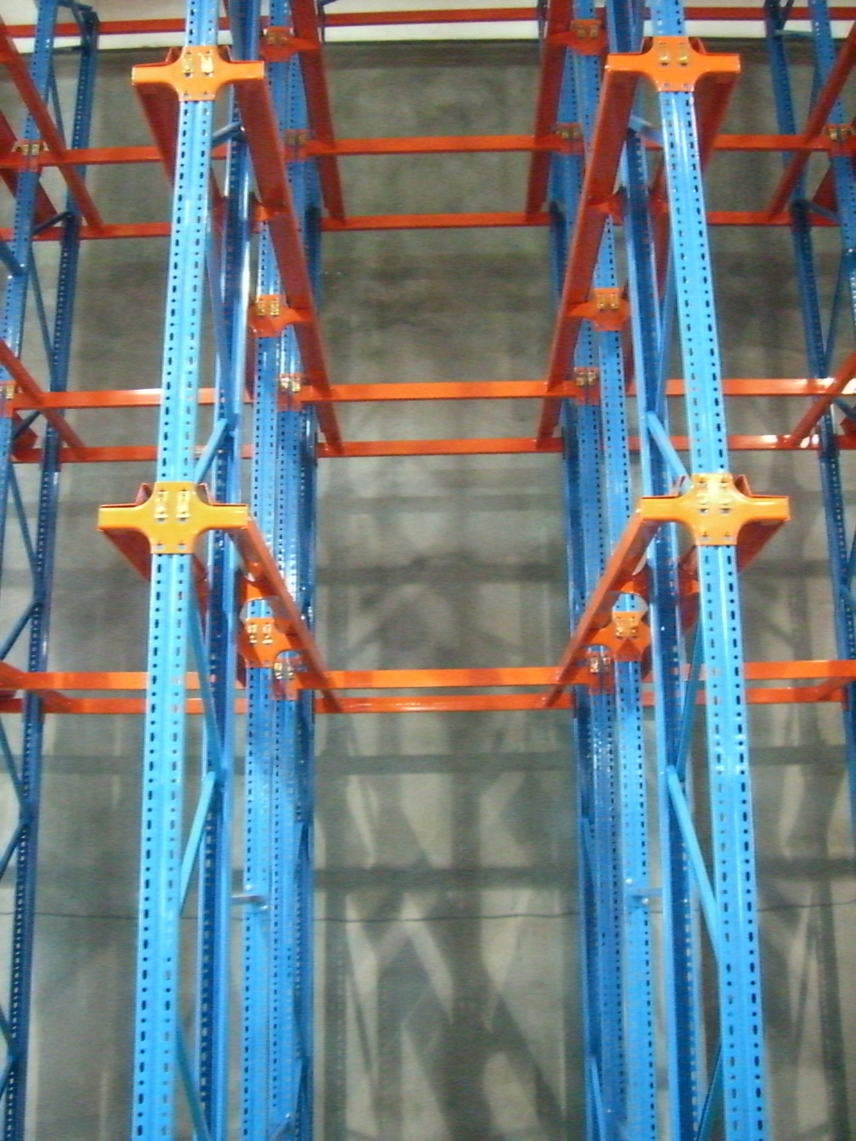 Drive In Pallet Racking Warehouse Industrial Drive In Pallet Racking System
